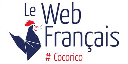 logo le web français agence de communication Bordeaux